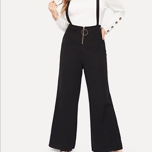 Pants - Zip overalls bail bottoms